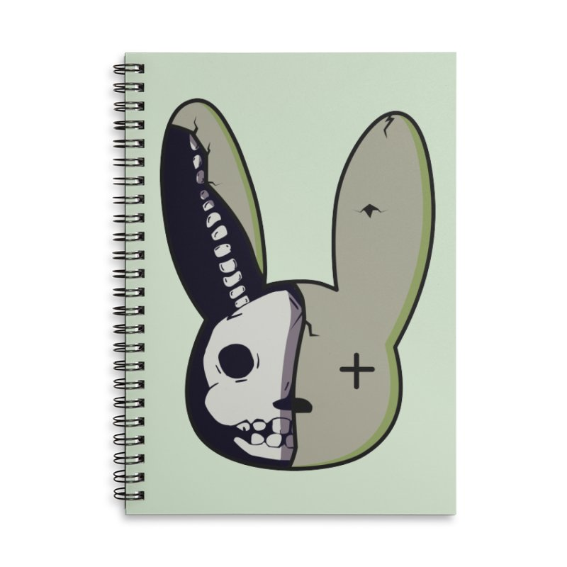 BaD Face Accessories Notebook by damian's Artist Shop