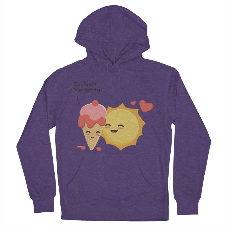 Tu amor me Derrite Men's Pullover Hoody by damian's Artist Shop