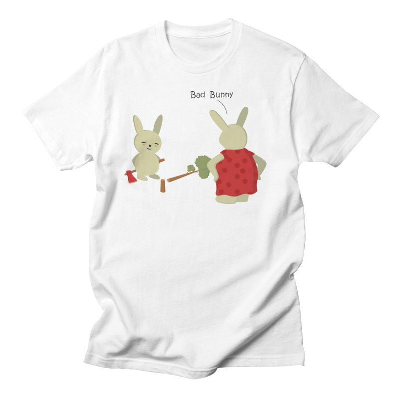 Lindo conejo travieso Men's T-Shirt by damian's Artist Shop