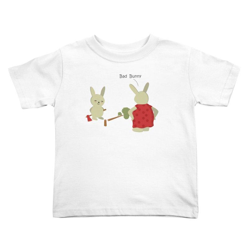 Lindo conejo travieso Kids Toddler T-Shirt by damian's Artist Shop