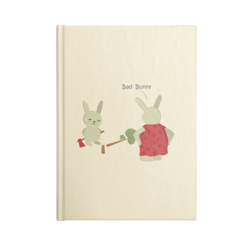 Lindo conejo travieso Accessories Notebook by damian's Artist Shop