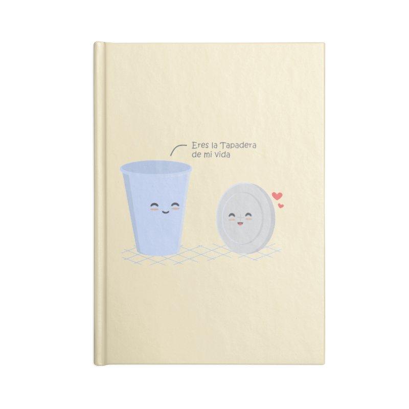 Eres la Tapadera de mi Vida Accessories Notebook by damian's Artist Shop