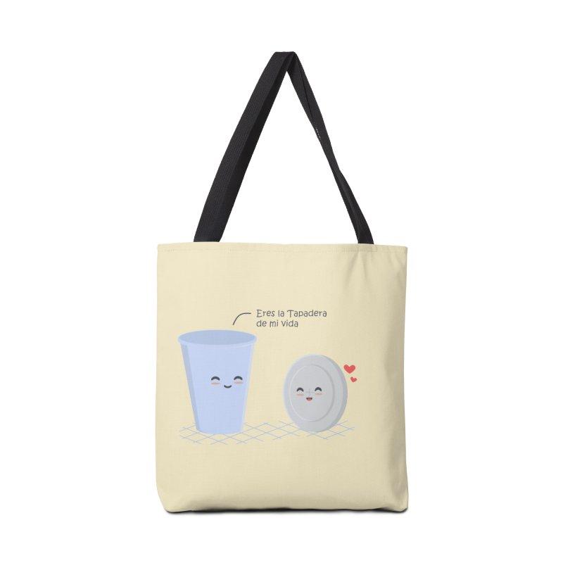 Eres la Tapadera de mi Vida Accessories Bag by damian's Artist Shop