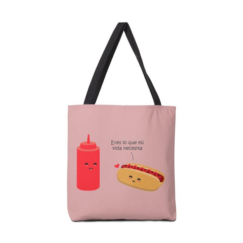 Eres  lo que mi vida necesita Accessories Bag by damian's Artist Shop