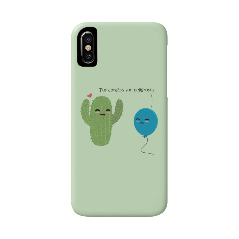 Tus abrazos son peligrosos Accessories Phone Case by damian's Artist Shop