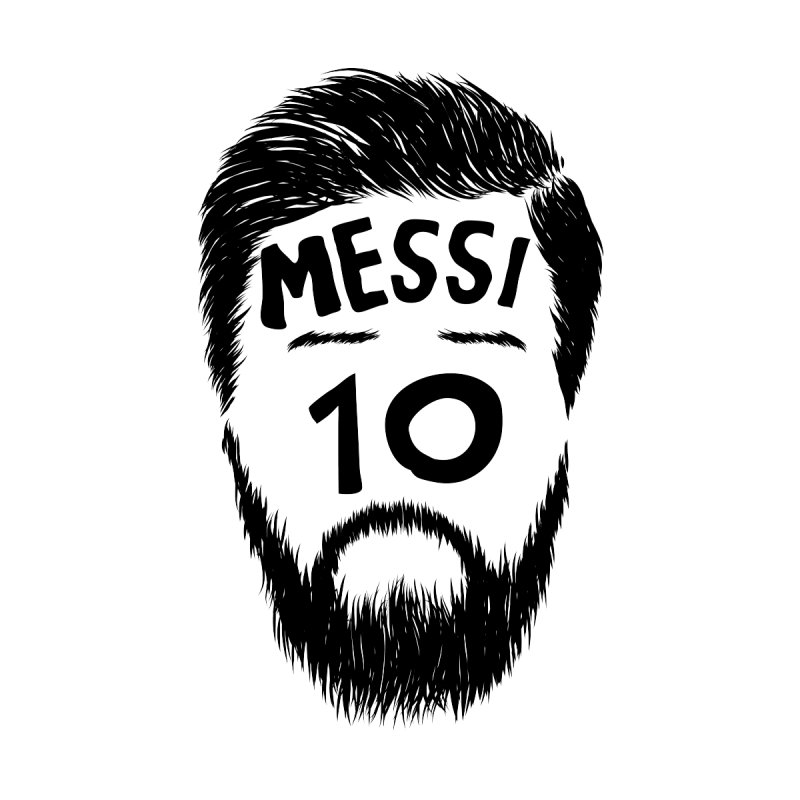 Messi 10 by damian's Artist Shop