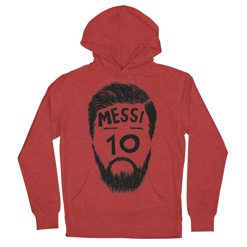Messi 10 Women's Pullover Hoody by damian's Artist Shop