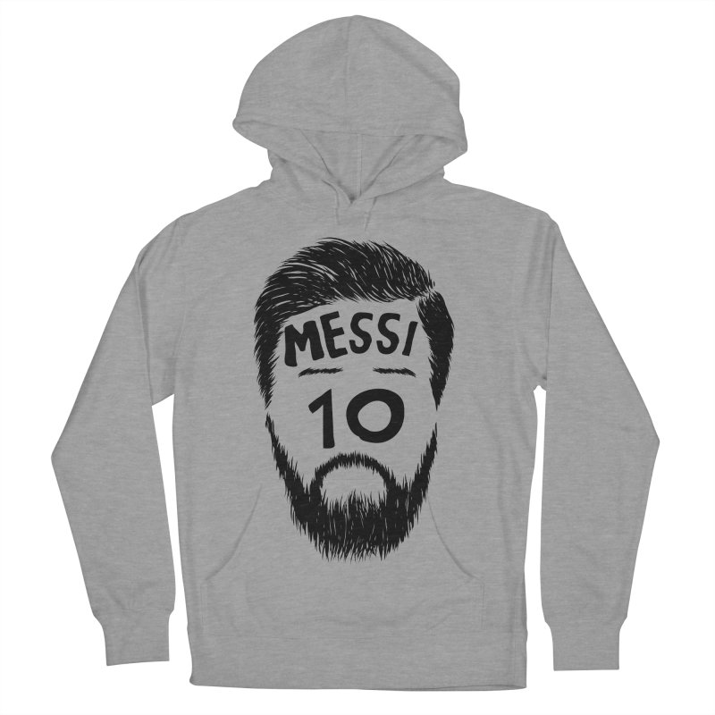 Messi 10 Men's French Terry Pullover Hoody by damian's Artist Shop