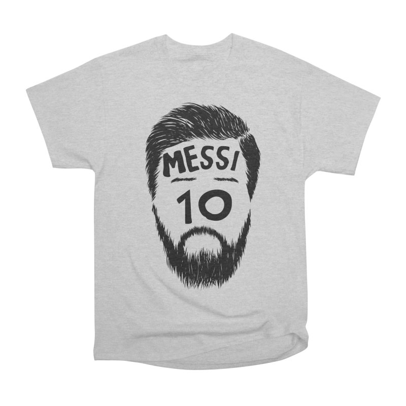Messi 10 Women's Heavyweight Unisex T-Shirt by damian's Artist Shop