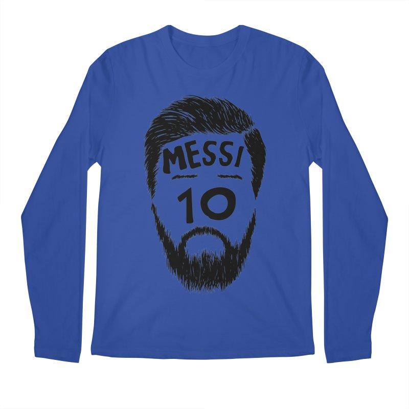 Messi 10 Men's Regular Longsleeve T-Shirt by damian's Artist Shop