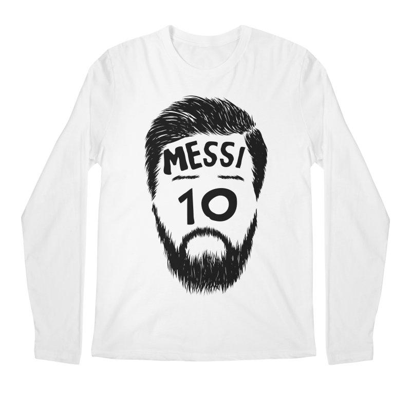 Messi 10 Men's Longsleeve T-Shirt by damian's Artist Shop