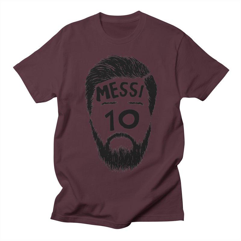 Messi 10 Women's Regular Unisex T-Shirt by damian's Artist Shop