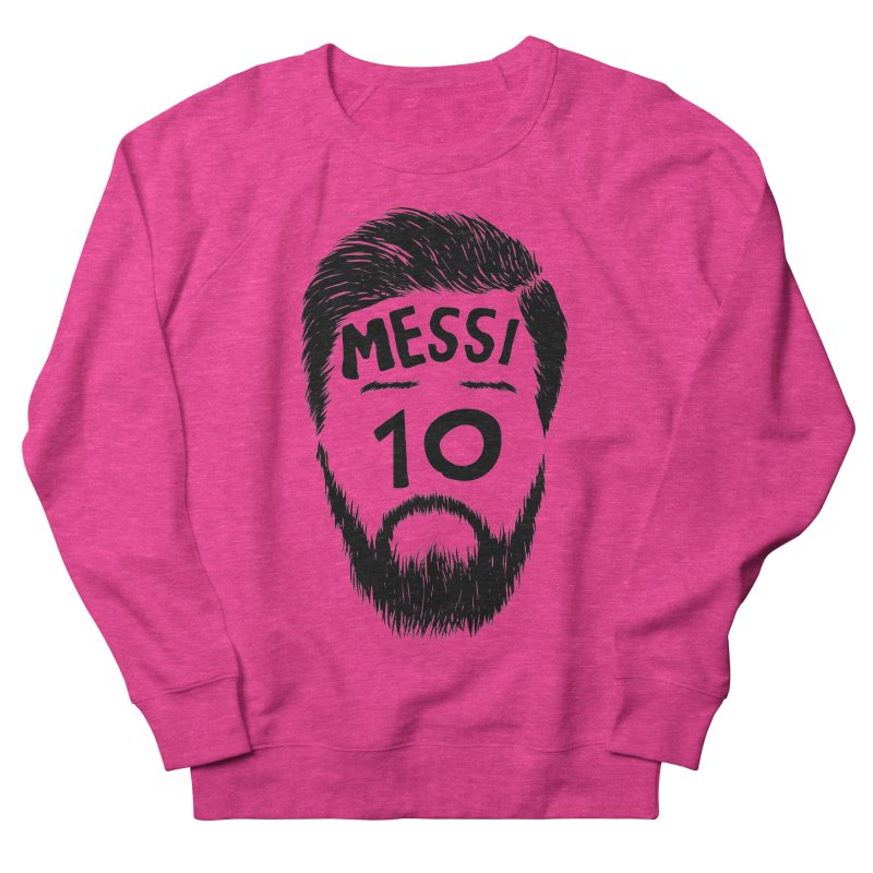Messi 10 Women's French Terry Sweatshirt by damian's Artist Shop