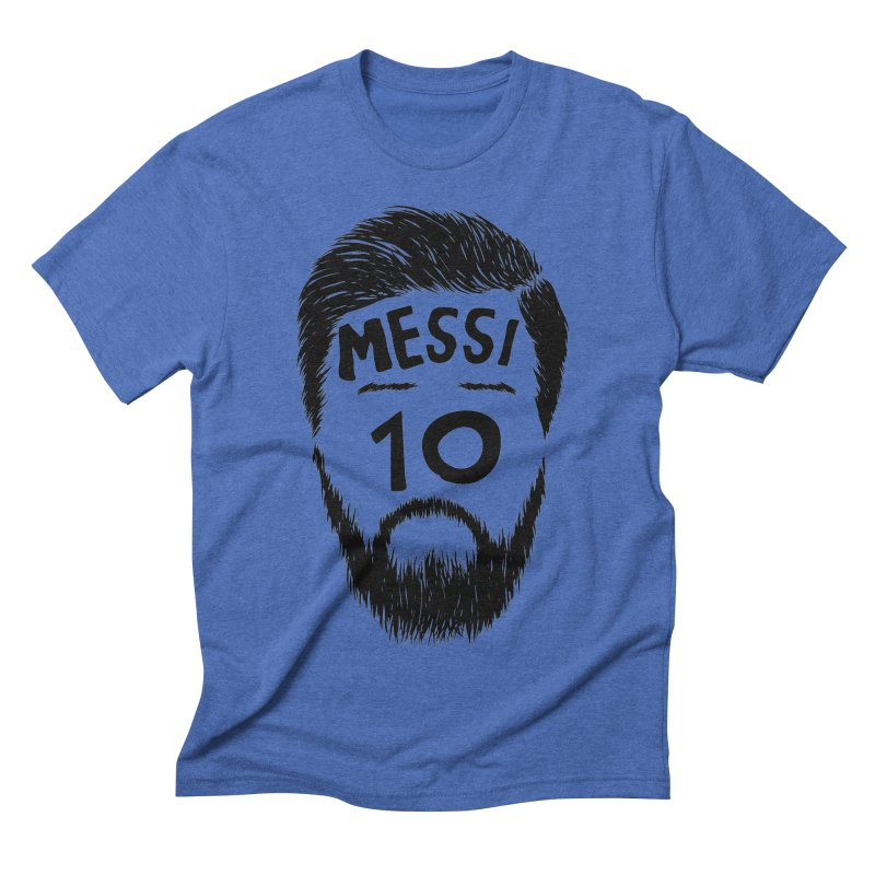 Messi 10 Men's Triblend T-Shirt by damian's Artist Shop