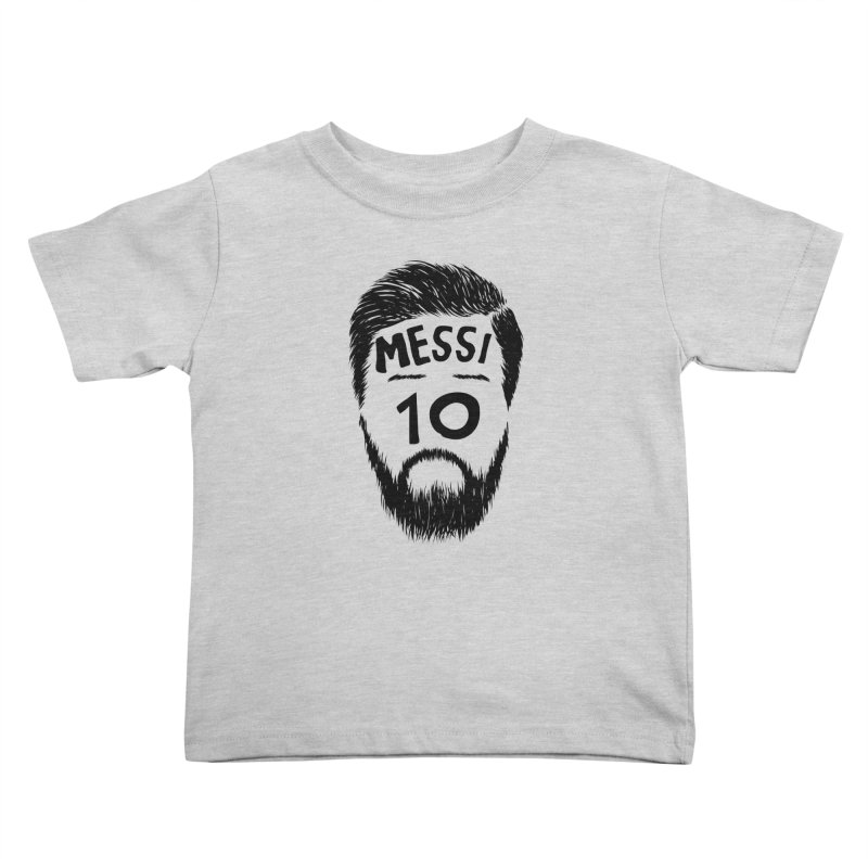 Messi 10 Kids Toddler T-Shirt by damian's Artist Shop