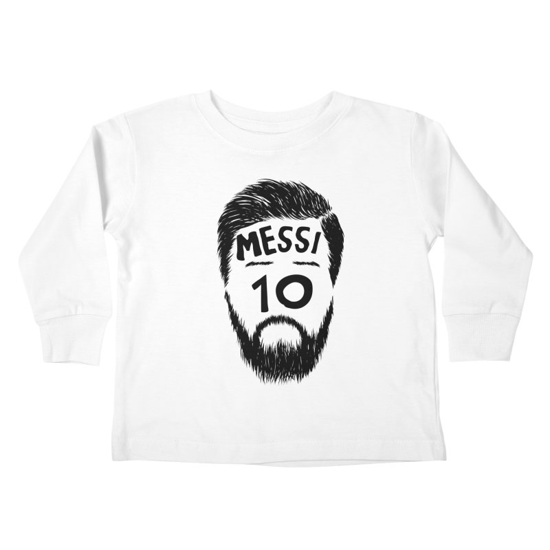Messi 10 Kids Toddler Longsleeve T-Shirt by damian's Artist Shop