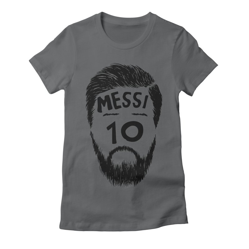 Messi 10 Women's Fitted T-Shirt by damian's Artist Shop