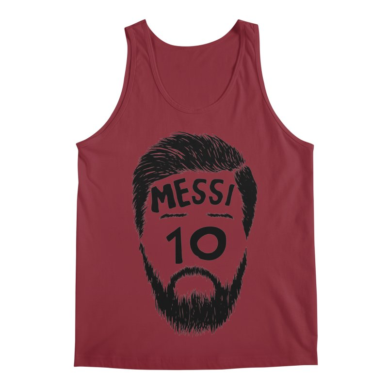 Messi 10 Men's Regular Tank by damian's Artist Shop