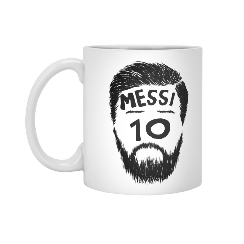 Messi 10 Accessories Mug by damian's Artist Shop