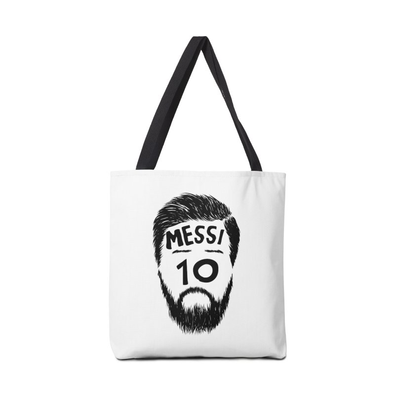Messi 10 Accessories Bag by damian's Artist Shop
