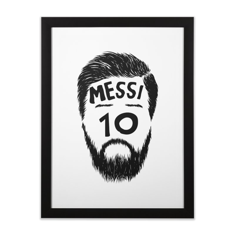 Messi 10 Home Framed Fine Art Print by damian's Artist Shop