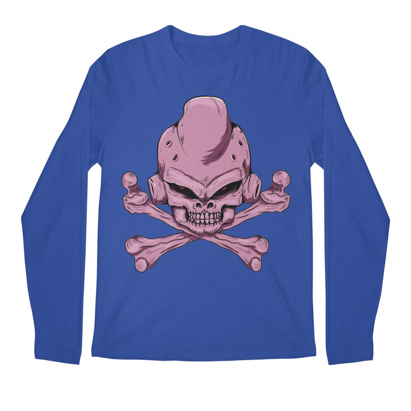 Craneo Boo Men's Regular Longsleeve T-Shirt by damian's Artist Shop