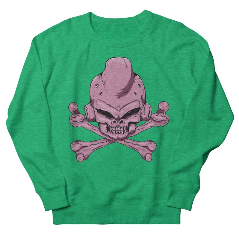 Craneo Boo Women's French Terry Sweatshirt by damian's Artist Shop