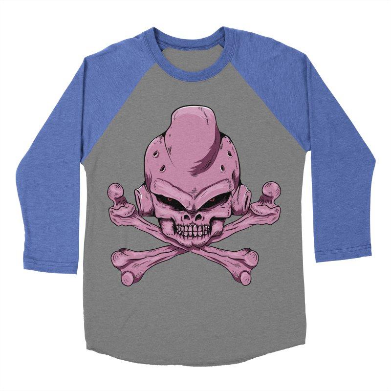 Craneo Boo Women's Baseball Triblend T-Shirt by damian's Artist Shop