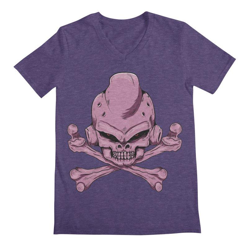 Craneo Boo Men's Regular V-Neck by damian's Artist Shop