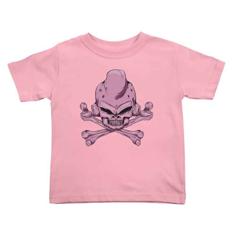 Craneo Boo Kids Toddler T-Shirt by damian's Artist Shop