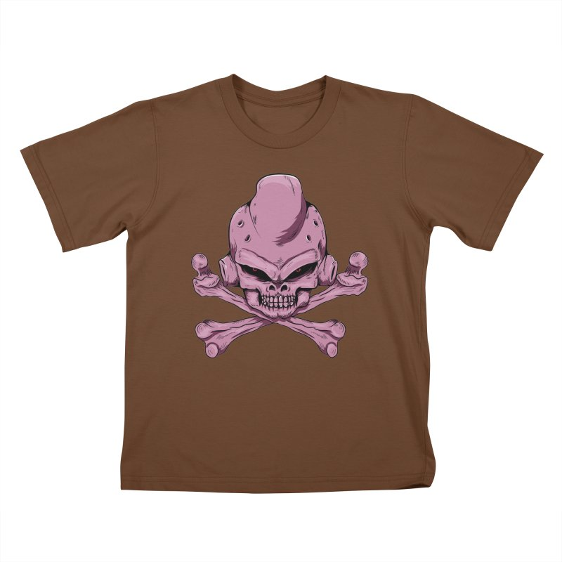 Craneo Boo Kids T-Shirt by damian's Artist Shop