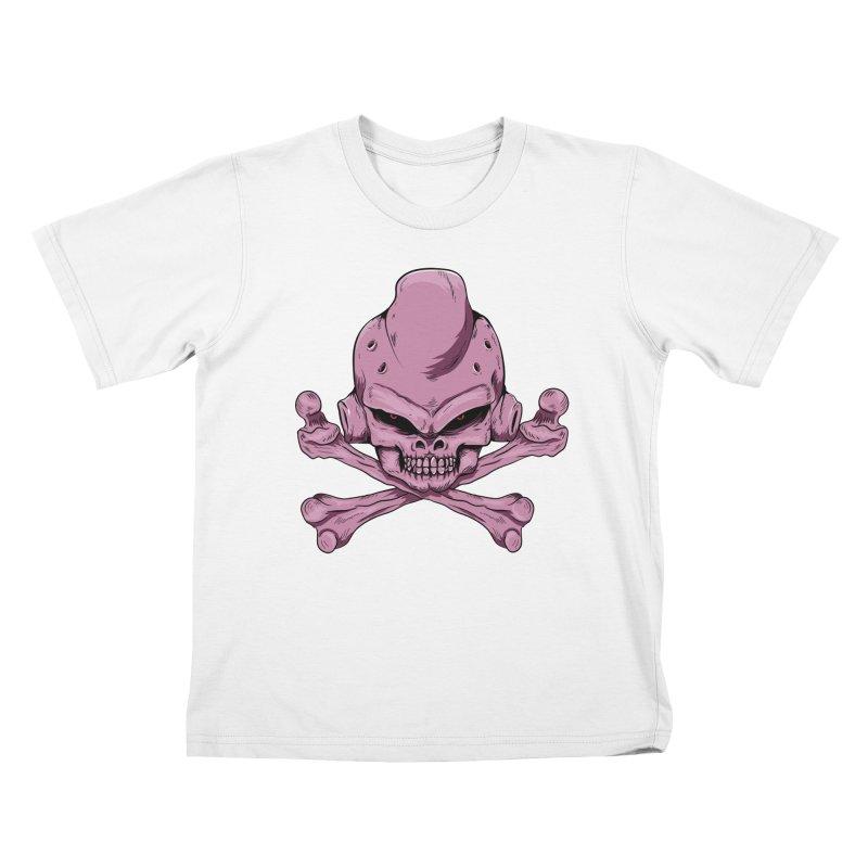Craneo Boo Kids T-Shirt by damian's Artist Shop