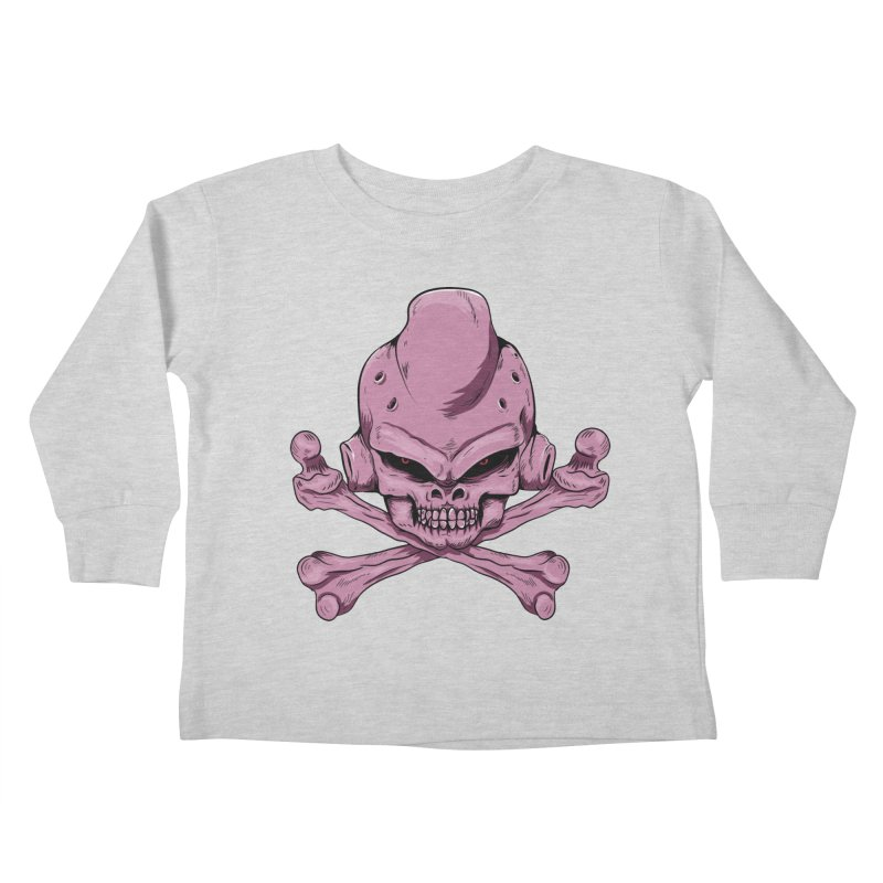 Craneo Boo Kids Toddler Longsleeve T-Shirt by damian's Artist Shop
