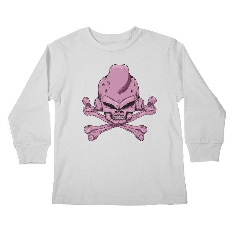 Craneo Boo Kids Longsleeve T-Shirt by damian's Artist Shop
