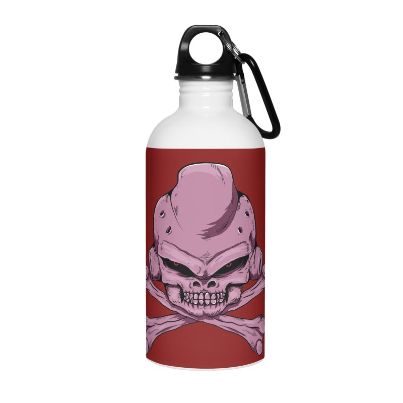 Craneo Boo Accessories Water Bottle by damian's Artist Shop