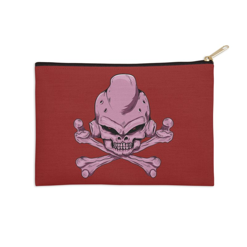 Craneo Boo Accessories Zip Pouch by damian's Artist Shop