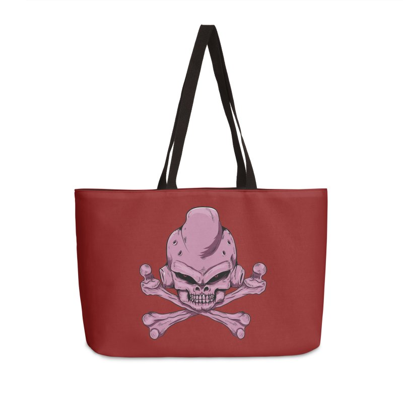 Craneo Boo Accessories Weekender Bag Bag by damian's Artist Shop