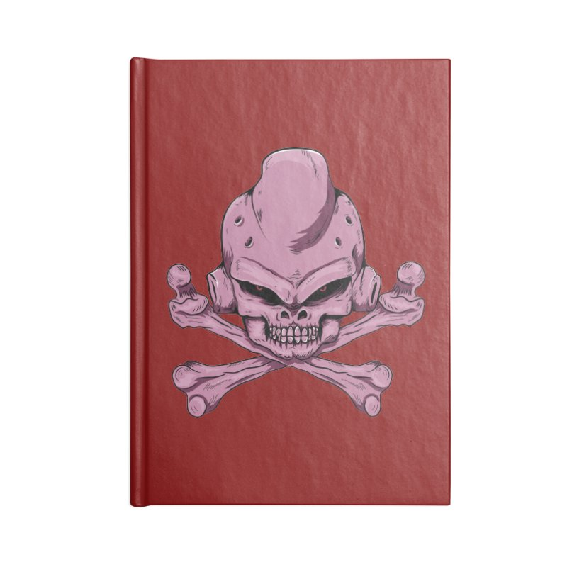 Craneo Boo Accessories Lined Journal Notebook by damian's Artist Shop