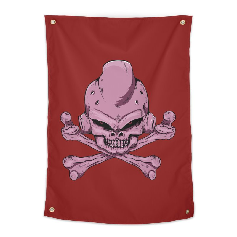Craneo Boo Home Tapestry by damian's Artist Shop