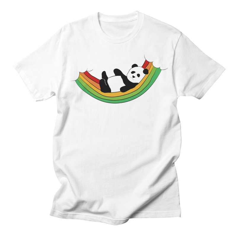 Arcoiris_osoPanda Women's Regular Unisex T-Shirt by damian's Artist Shop