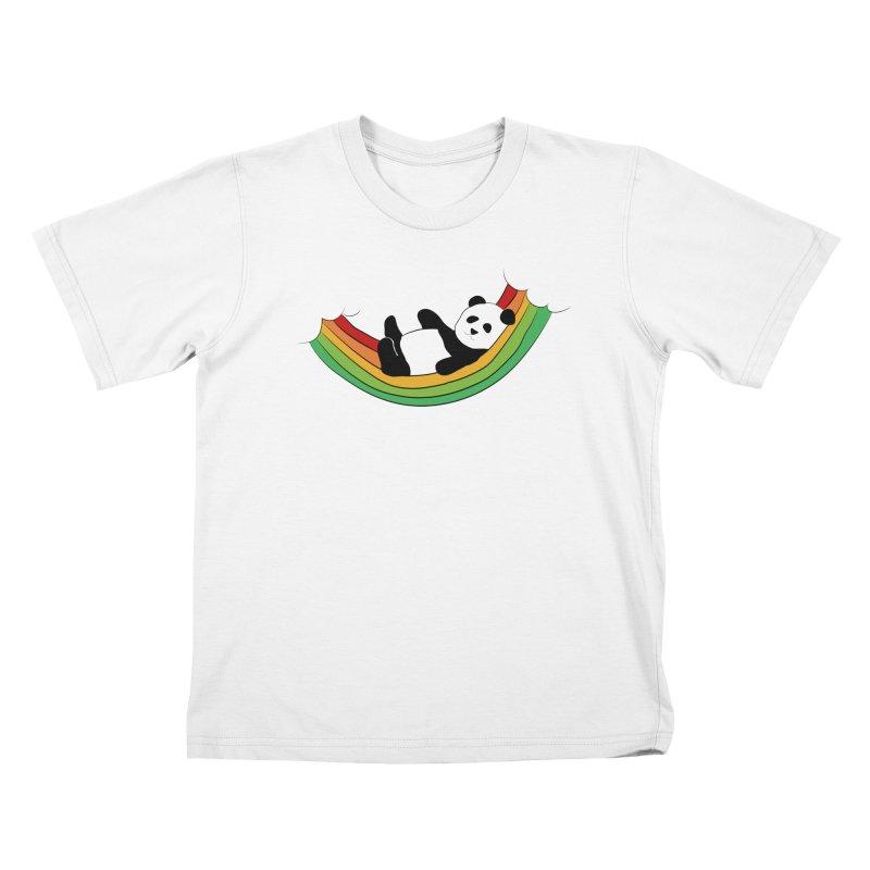 Arcoiris_osoPanda Kids T-Shirt by damian's Artist Shop