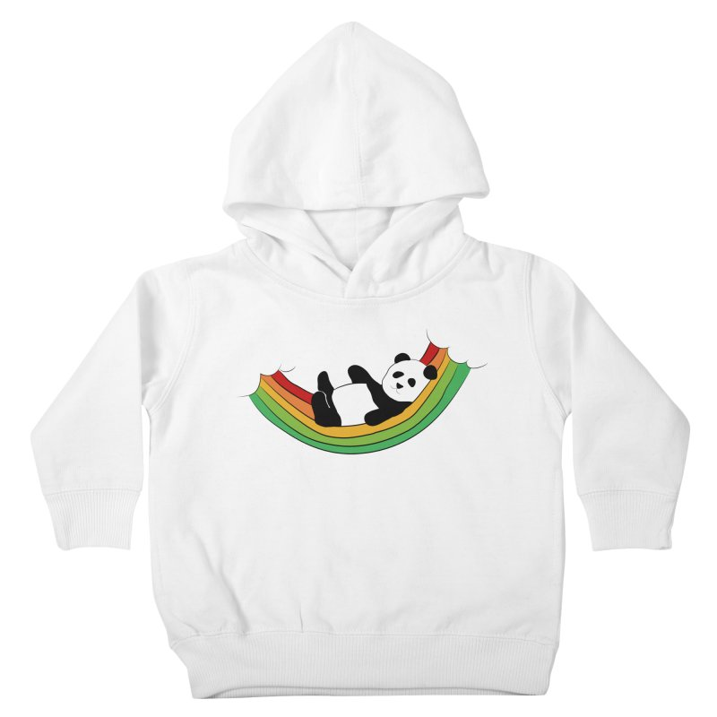 Arcoiris_osoPanda Kids Toddler Pullover Hoody by damian's Artist Shop