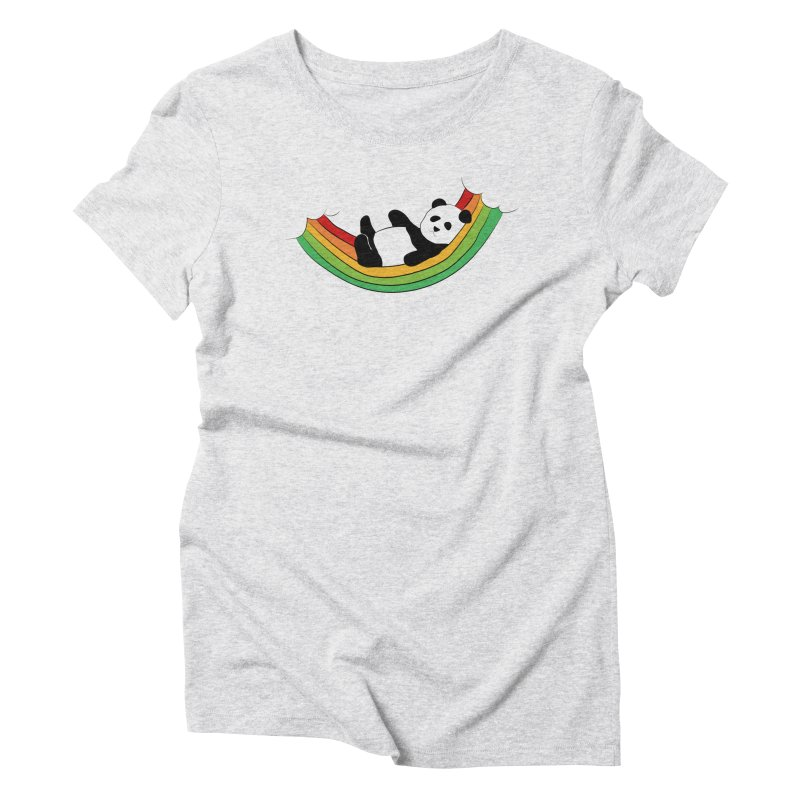 Arcoiris_osoPanda Women's Triblend T-Shirt by damian's Artist Shop