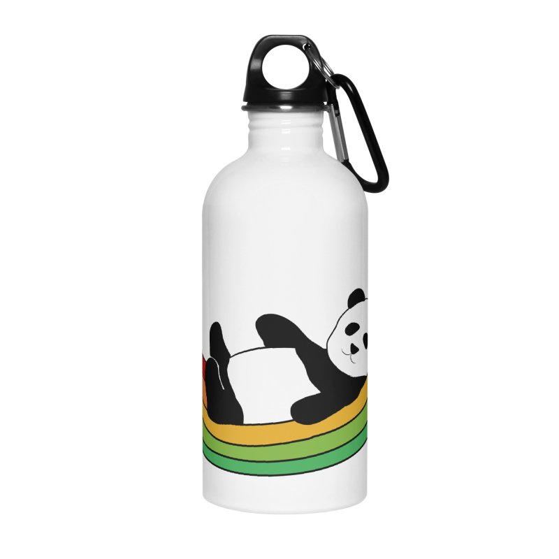 Arcoiris_osoPanda Accessories Water Bottle by damian's Artist Shop