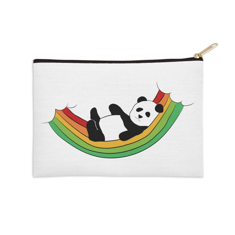 Arcoiris_osoPanda Accessories Zip Pouch by damian's Artist Shop