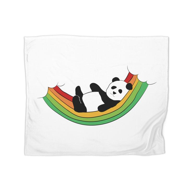 Arcoiris_osoPanda Home Blanket by damian's Artist Shop
