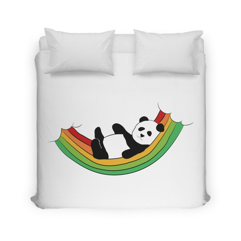 Arcoiris_osoPanda Home Duvet by damian's Artist Shop