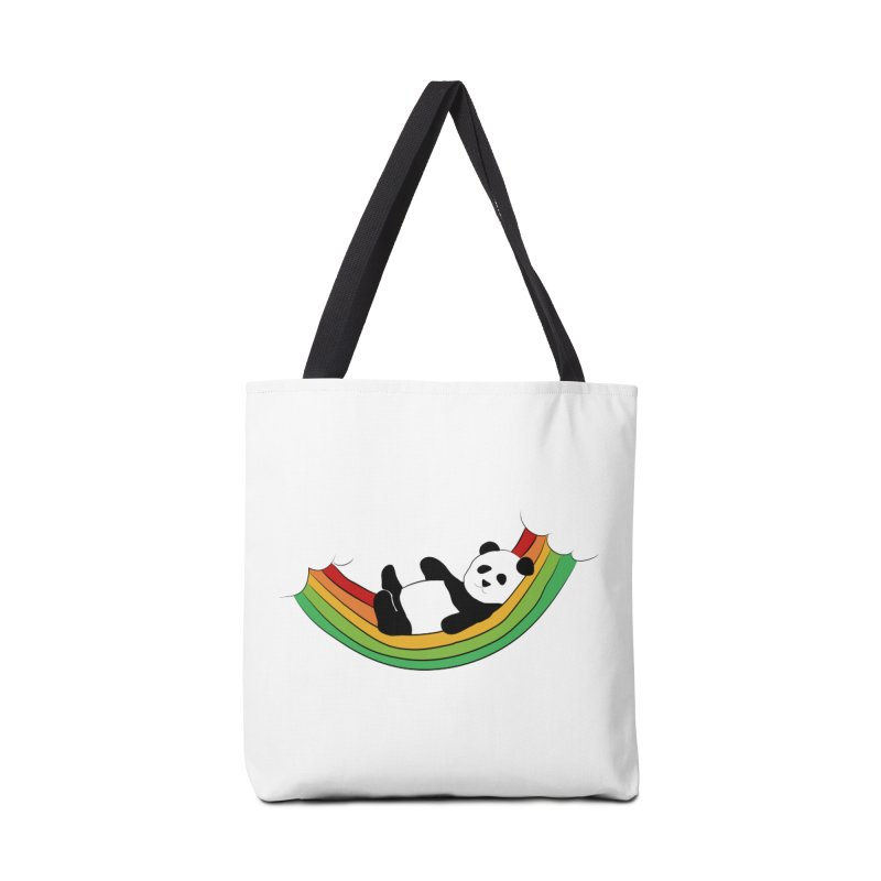 Arcoiris_osoPanda Accessories Tote Bag Bag by damian's Artist Shop