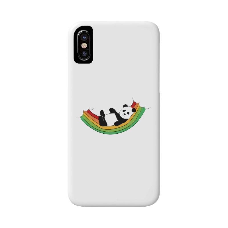 Arcoiris_osoPanda Accessories Phone Case by damian's Artist Shop