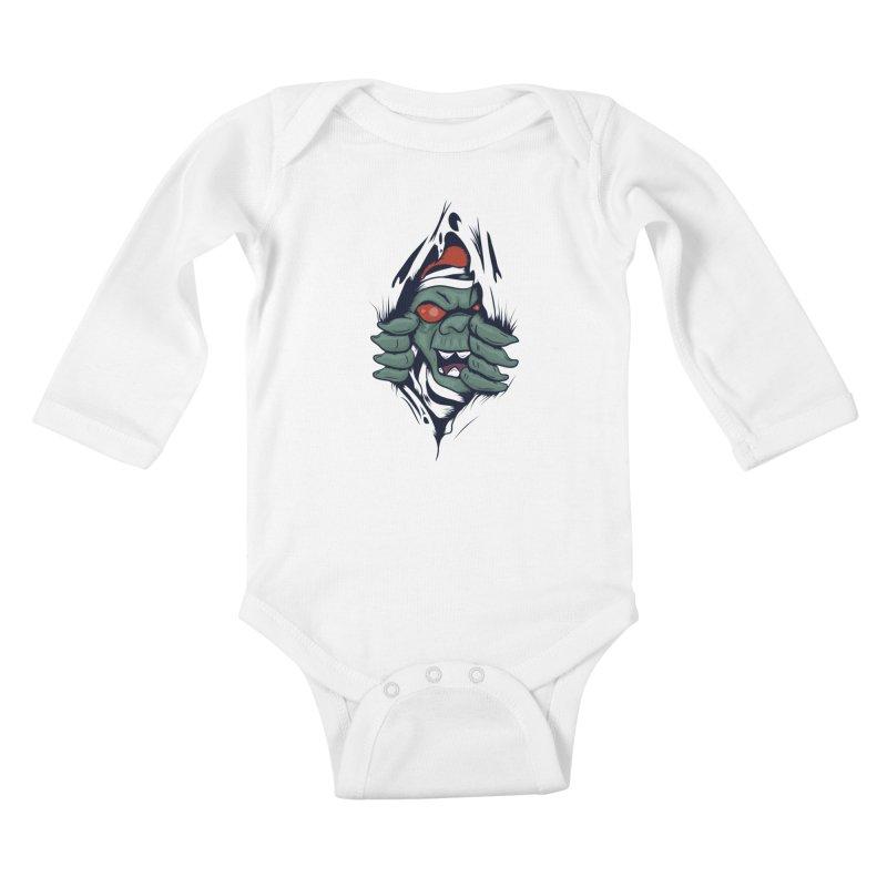 Espiritus del mas alla Kids Baby Longsleeve Bodysuit by damian's Artist Shop